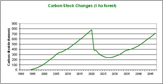 Carbon Stock Changes